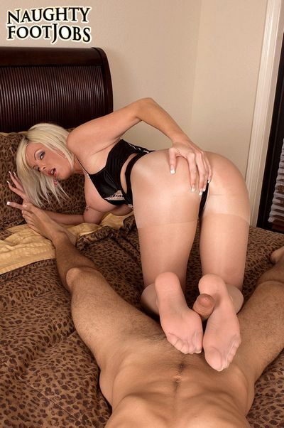 Naughty Footjobs download